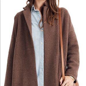 Madewell Chilton merino wool blend sweater coat